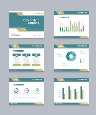 Vector plantilla de presentación se desliza fondo design.info gráficos y tablas. diapositivas design.flat estilo. Foto de archivo - 45004703