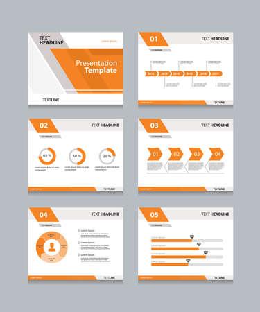 presentation template: Vector template presentation slides background design.info graphs and charts . slides design.flat style.