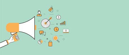 通信: ビジネスの発表およびマーケティングプロ モーション