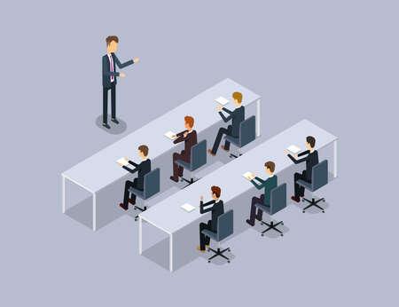 business speaker on businessman .organization  meeting and training .stock training. public relation.