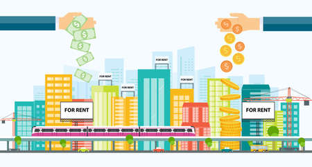 business money: business property investment .real estate investment.