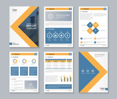 layout: annual report layout template
