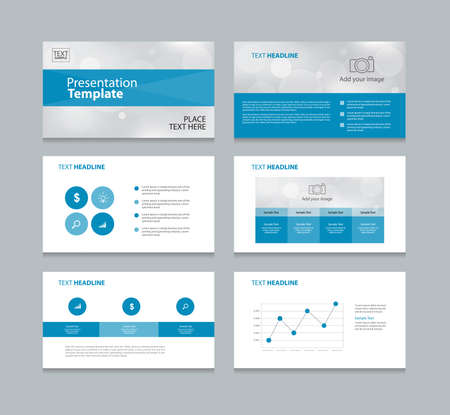 abstract page layout design template for presentation and  brochure ,Annual report,  flyer and book  .with infographic elements design