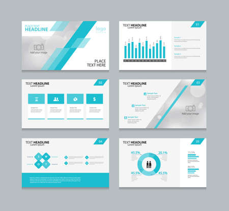 page layout: page layout design template for presentation and  brochure ,Annual report,  flyer and book  .with infographic elements design