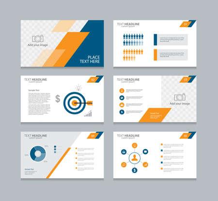 diseño de la plantilla de diseño de página para la presentación y el folleto, informe anual, folletos y libros .con diseño elementos infografía
