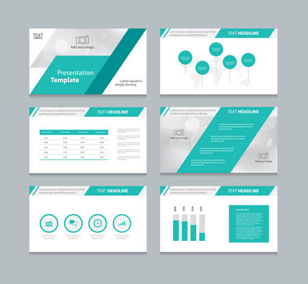 abstract cover background and page layout design template for