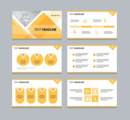 slides: abstract page cover and page layout background for business presentation slides