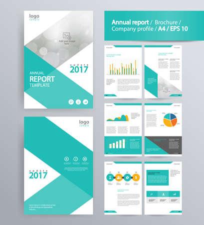 Layout di pagina per profilo aziendale, la relazione annuale, brochure, e modello di layout volantino. con informazioni elemento grafico. e le dimensioni vettore A4 per modificabile Archivio Fotografico - 68077195