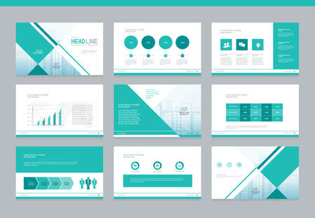 page layout and cover design for brochure report book and