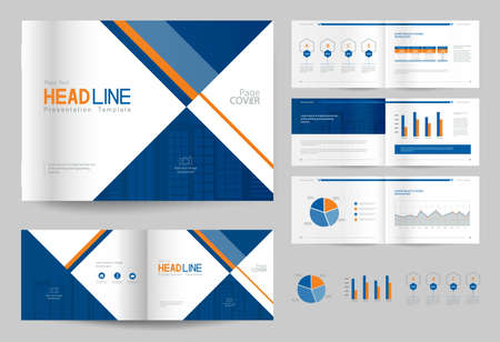 Business brochure design template and page layout for company business brochure design template and page layout for company profile annual reportwith page flashek Image collections