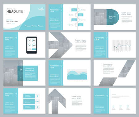 page layout design for business presentation and brochure ,report,book page with cover designpage layout design for business presentation and brochure ,report,book page with cover design  イラスト・ベクター素材