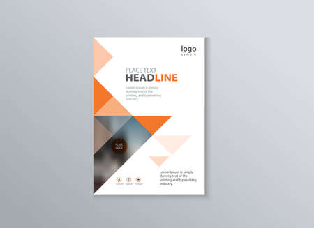 magazine design: Abstract cover and layout design template for marketing material presentation concept. Can be use in flyer, brochure, annual report, poster and magazine template