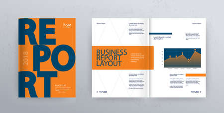 Template Layout Design With Cover Page For Company Profile ,annual ...