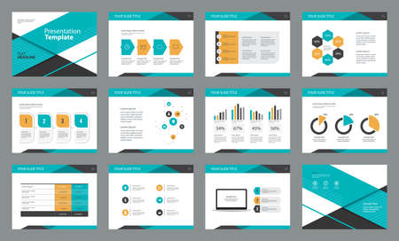 Business presentation page layout template design with info graphic element for,brochure and report concept