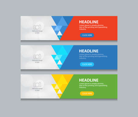 Abstract Web Banner Design Template Backgrounds Royalty Free ...