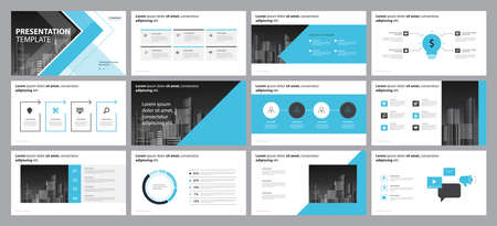 business presentation backgrounds design template and page layout design for brochure ,book , magazine,annual report and company profile , with infographic elements graph design concept 版權商用圖片 - 124171299