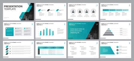 business presentation backgrounds design template and page layout design for brochure, book, magazine, annual report and company profile, with infographic timeline elements design concept