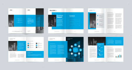 template layout design with cover page for company profile, annual report, brochures, flyers, presentations, leaflet, magazine, book. and vector a4 size for editable.