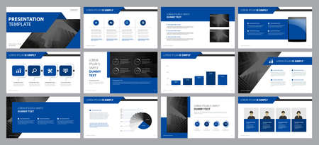 business presentation backgrounds design template and page layout design for brochure ,book , magazine, annual report and company profile , with info graphic elements graph design concept