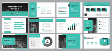 presentation page layout template design and use for brochure ,book , magazine, annual report and company profile , with timeline infographic elements easy editable