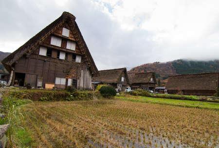 gassho zukuri: Historical Japanese Village - Shirakawago, Gifu, Japan