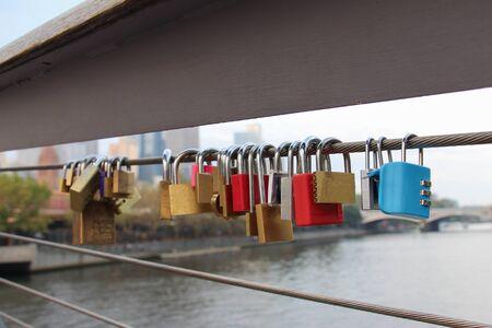 lockers: Lockers at the bridge.