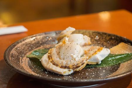 Hotate, Japanese scallop
