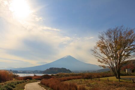Mount Fuji at Lake Kawaguchiko, Japan