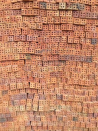 hugely: Bricks background Stock Photo
