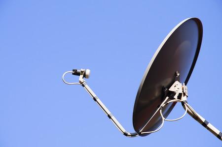 transmitting: Transmitting antenna and blue sky