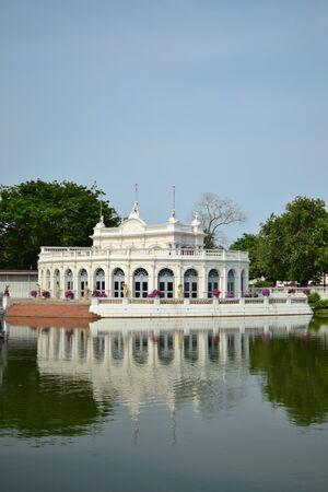 Bang Pa-In Palace in  Ayutthaya  Province,Thailand . Stock Photo - 13096884