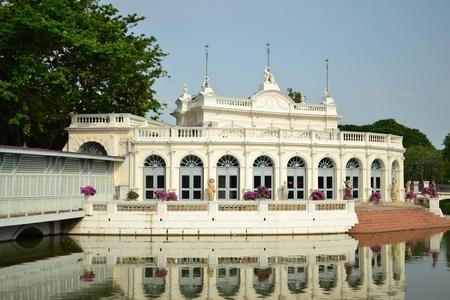 Bang Pa-In Palace in  Ayutthaya  Province,Thailand .