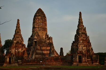 Pagoda of Ayuthaya, Thailand. Stock Photo - 13702828