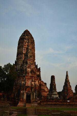 Pagoda of Ayuthaya, Thailand. Stock Photo - 13702782