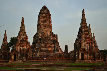 Pagoda of Ayuthaya, Thailand. Stock Photo - 13702834