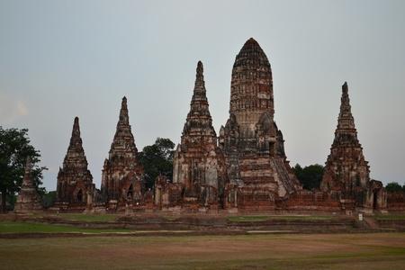 Pagoda of Ayuthaya, Thailand. Stock Photo - 13702835
