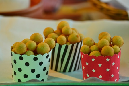 Colorful of Traditional Thai Dessert photo
