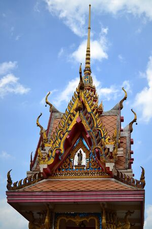 Generic Bell tower of Thai temple in countryside. photo