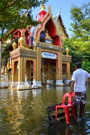 Thailand flood 2011,Bangkok,Thailand,Asia.