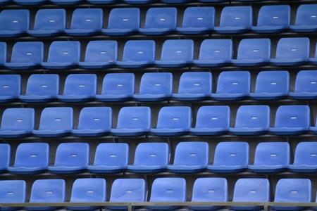 grandstand: Grandstand in stadium  Stock Photo