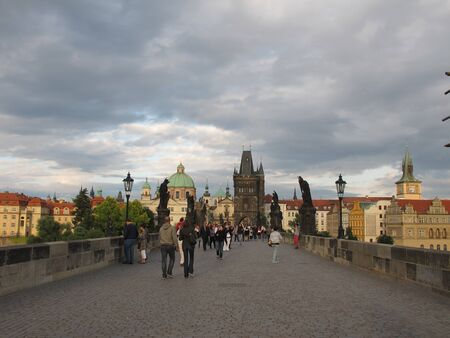 Street and Architecture of Prague, Czech Republic