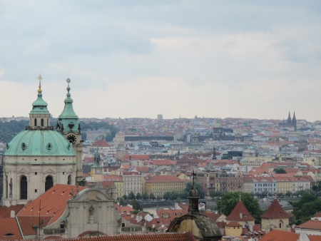 Landscapes and landmarks of Prague, Czech Republic photo
