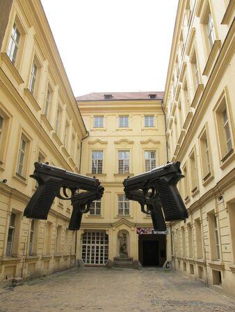 Architecture and Beautiful buildings ,Prague, Czech Republic