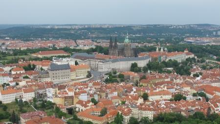 Landscapes and landmarks of Prague, Czech Republic photo