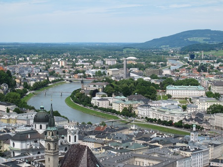 Landscapes and landmarks of  Salzburg,Austria photo