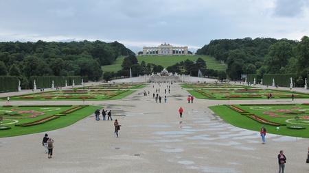 nbrunn: Castle Schoenbrunn in Vienna ,Austria,Europe