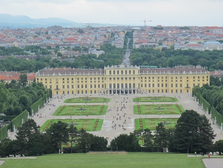 Castle Schoenbrunn in Vienna ,Austria,Europe