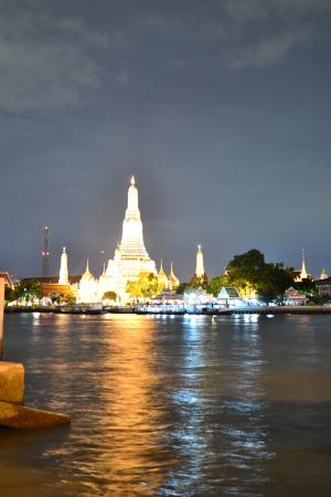Prang Wat Arun ,Thai temple (Wat Arun),Bangkok,Thailand,Asia photo