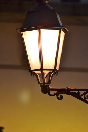European style antique lamps( Street lamp ) photo