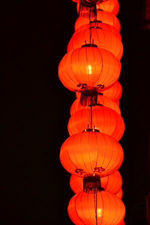 Chinese Lantern in ChineseTemple,Macau photo